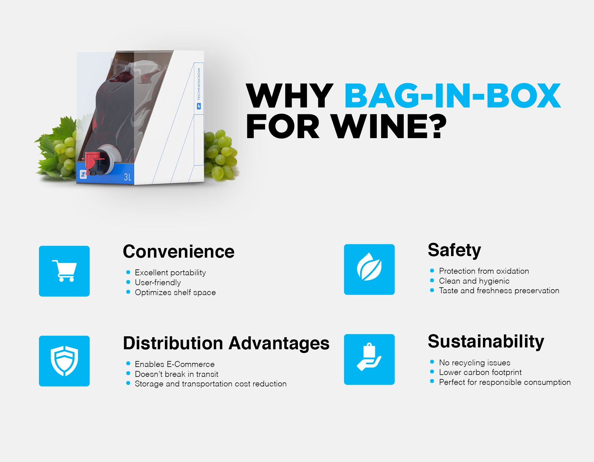Bag in Box Wine: it is high time to bag your wine!